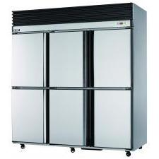 Stainless Steel Reach-in Refrigerator/Freezer 1480L Air Type