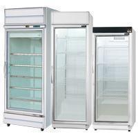 Single door top mounted showcase series